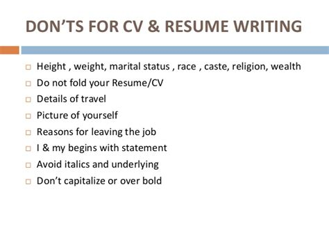 reasons for leaving a on your resume of resume and cv writing
