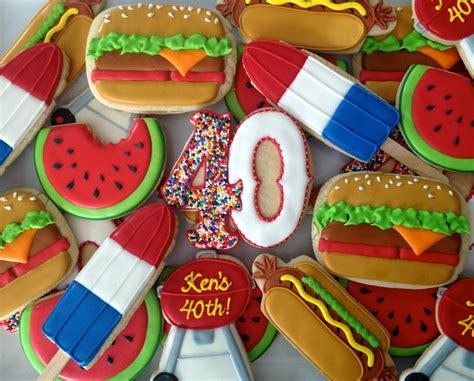 sugar  bbq cookies