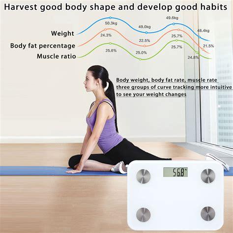 body fat scale floor smart electronic led digital