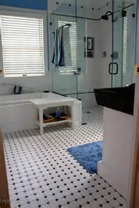carrelage et blanc carrelage sol salle de bain noir et blanc peinture faience salle de bain