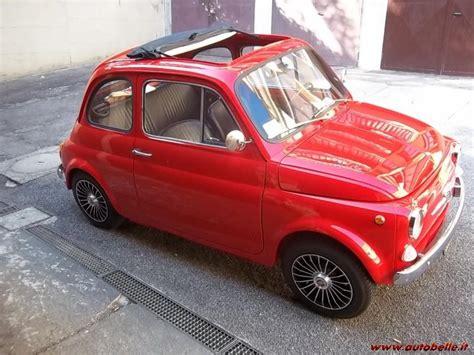 Tappezzeria Fiat 500 F by Vendo Fiat 500 F Asi Anno 1966 D Epoca