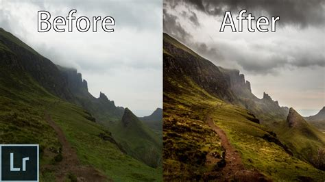 landscape photography editing  ultimate lightroom  cc