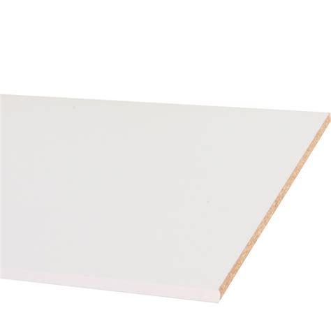 panneau melamine blanc 10mm panneau melamine blanc 18 mm en largeur de 30 224 80 cm