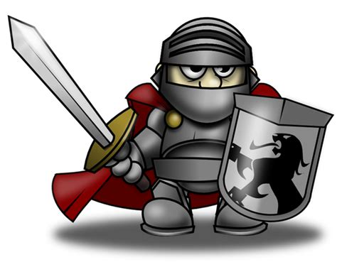 Knight In Shining Armor Cartoon
