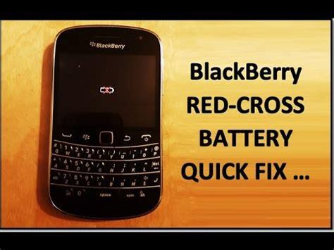 fix blackberry cross battery