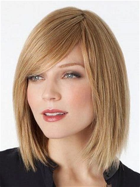 hair styles for thick hair 1000 ideas about medium bob with bangs on 4629