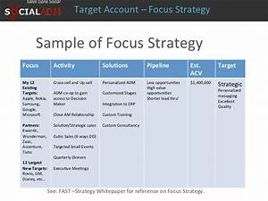 target account whitepaper With target account selling template