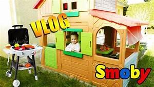 Cabane Exterieur Enfant : cabane d 39 ext rieur maison duplex pour enfant et barbecue ~ Melissatoandfro.com Idées de Décoration