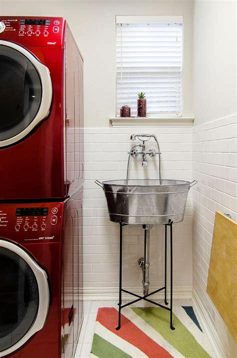 galvanized tub sink bathroom craftsman  bathroom