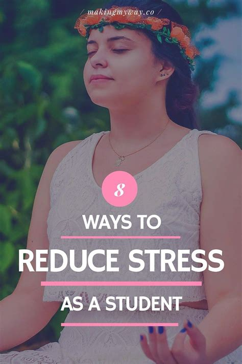 8 Ways To Reduce Stress As A High School Or College Student  Reduce Stress And Students