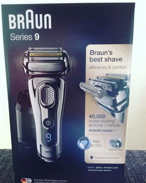 braun series 8 braun series 9 9296cc in corstorphine edinburgh gumtree