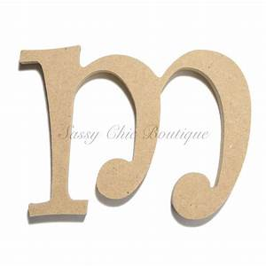 unfinished wooden letter lowercase quotmquot curlz font With lowercase wooden letters