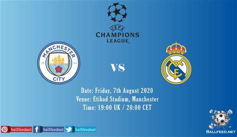 Manchester City vs Real Madrid: Live Stream   Preview ...