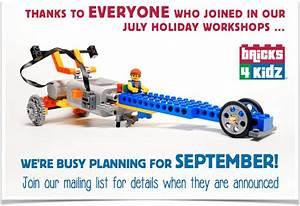 BRICKS 4 KIDZ Australia Busy Planning For September