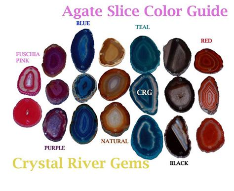 what color is agate agate products agate slice size and color