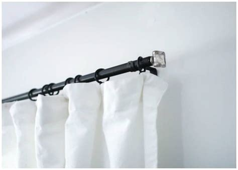 pvc curtain rod 10 diy curtain rods and creative window treatments
