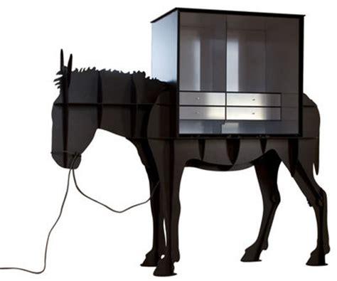 bureau martin meuble ordinateur brun brossé ibride
