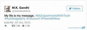 If Gandhiji Had... Twitter Accounts Quotes