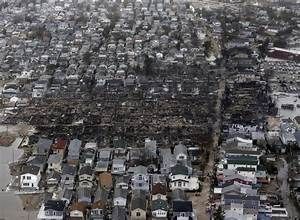 Breezy Point Fire: At Least 80 Flooded Houses Destroyed By ...