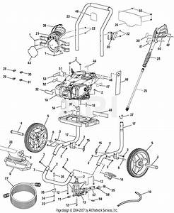 Homelite Ps80946b Powerstroke Pressure Washer Parts