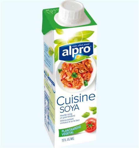 cuisine soja cuisine alpro