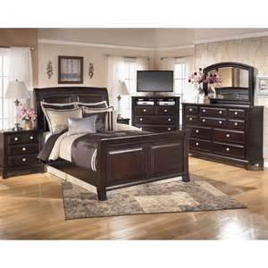 signature design by ridgley 4 pc bedroom set