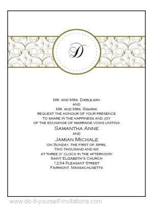 wedding templates diy printable wedding invitations templates