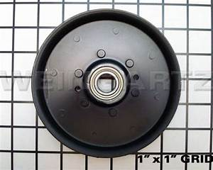 John Deere Parts Idler Flat Pulley Am106627