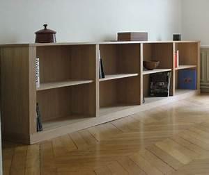 Bibliothèque Basse Bois : bibliotheque basse ~ Teatrodelosmanantiales.com Idées de Décoration