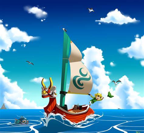 Sail Boat Zelda by The Wind Waker By Machiazu On Deviantart