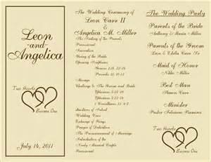 fans for wedding programs printable wedding programs on free printable