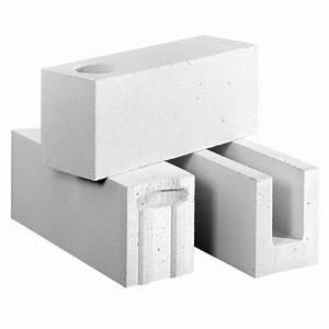 bloc beton cellulaire pour mur double isolation haute With mur exterieur en beton cellulaire