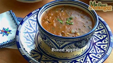 cuisine arabe recette de harira soupe traditionnelle marocaine