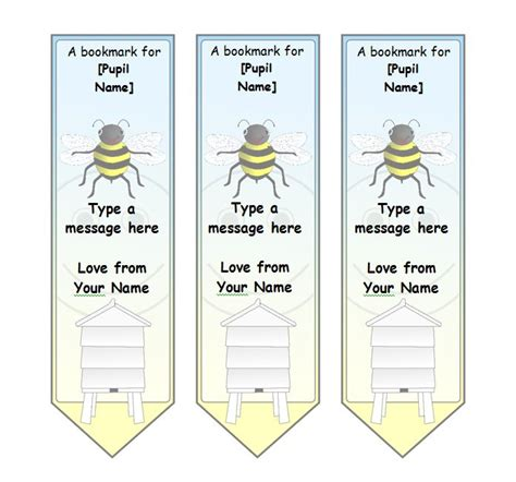 Bookmark Template 40 Free Printable Bookmark Templates Free Template Downloads