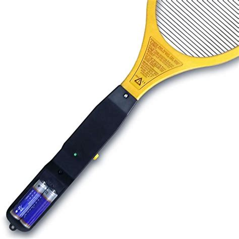 exterminator bug zapper racket fly swatter kill mosquito bat insect wasp gnats