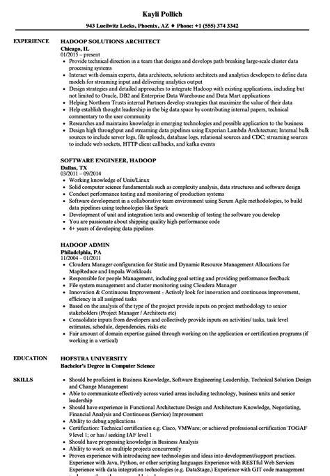 Hadoop Resume Samples  Velvet Jobs. Warehouse Worker Resumes. Resume Samples Mechanical Engineer. Engineering Student Resume Sample. Barista On Resume. Resume Communication. Massage Therapy Resumes. Sample Objectives On Resumes. Simplicity Resume