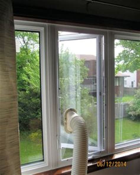 installing  portable air conditioner   casementcrank window