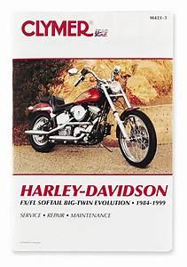 Clymer Manual Harley  Fxs Evolution 1984
