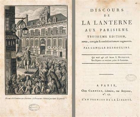a la lanterne l histoire par l image