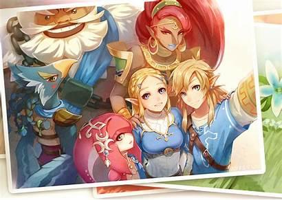 Zelda Revali Legend Background Wallpapers Wall