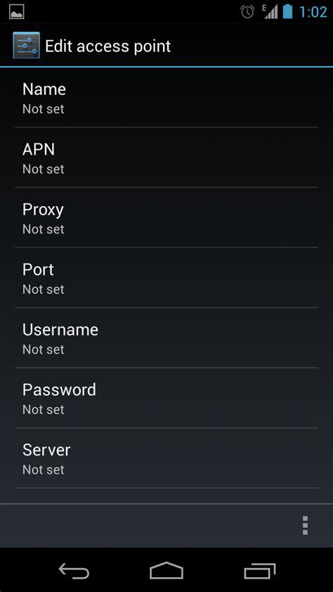 Saat kamu menggunakan modem sebagai media koneksi internet pada komputer jinjing kamu mungkin pernah terbesit pertanyaan. Setting Internet Gratis - Open new APN setting page through Android app ... : Además de las ...