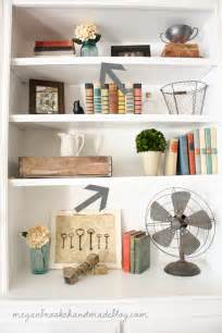 how to decorate style bookshelves megan brooke handmade