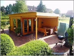 Gartenhaus Mit Terrasse : gartenhaus mit flachdach und terrasse download page beste wohnideen galerie ~ Whattoseeinmadrid.com Haus und Dekorationen