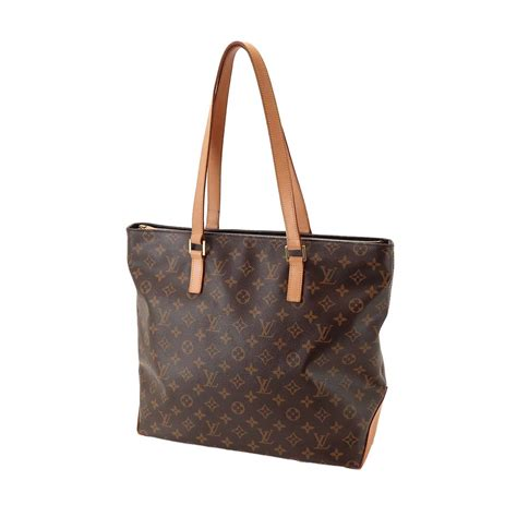 authentic louis vuitton monogram cabas mezzo tote bag