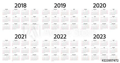 calendar year vector week starts