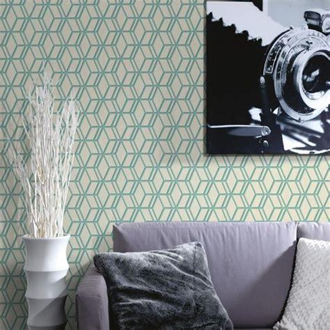 papier peint ling vert d eau 4 murs papier paint pinterest