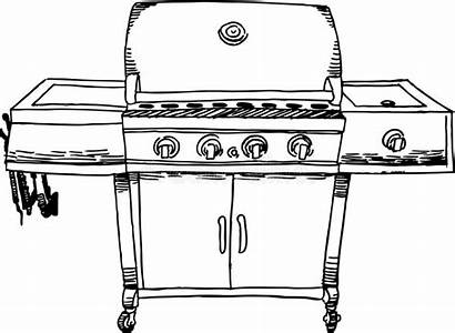 Bbq Grill Barbeque Steel Stainless Vector Illustration