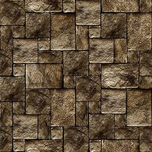 Stony wall seamless background - texture pattern for ...