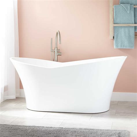 in tubs marsellus acrylic freestanding tub freestanding tubs