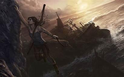 Raider Characters Tomb Lara Croft Games Fan